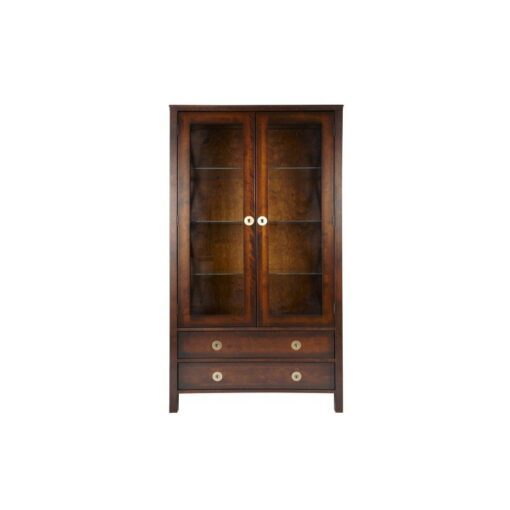 Balmoral Chestnut Display Cabinet
