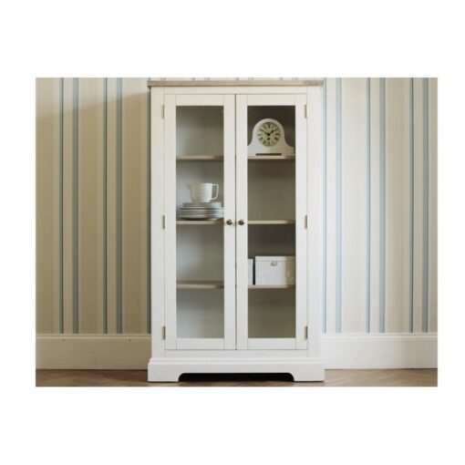 Dorset White Display Cabinet