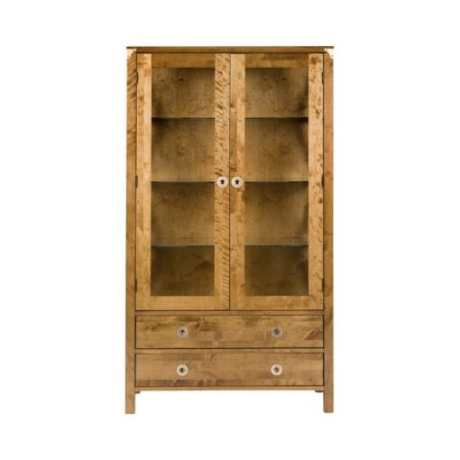 Balmoral Honey Display Cabinet