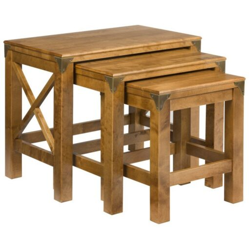 Balmoral Honey Nest of 3 Tables