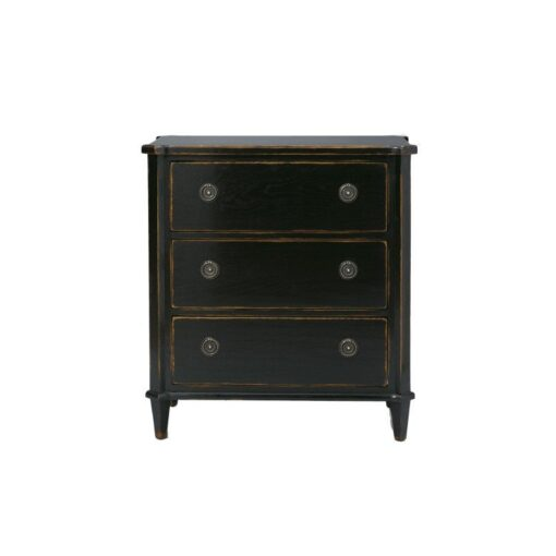 Henshaw – Black Chest Of Drawers