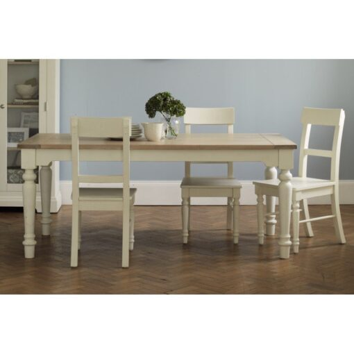 Dorset White Dining Table