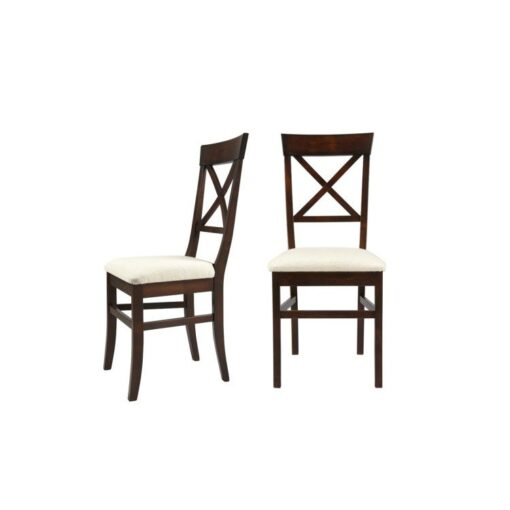 Balmoral Chestnut Dining Chairs – Pair