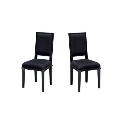 Henshaw – Black Dining Chairs – Pair