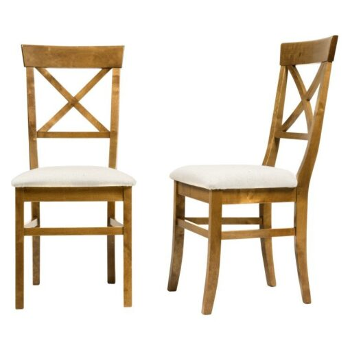 Balmoral Honey Dining Chairs – Pair