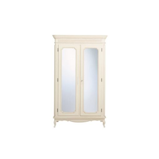 Provencale – Ivory Wardrobe – Mirrored Doors