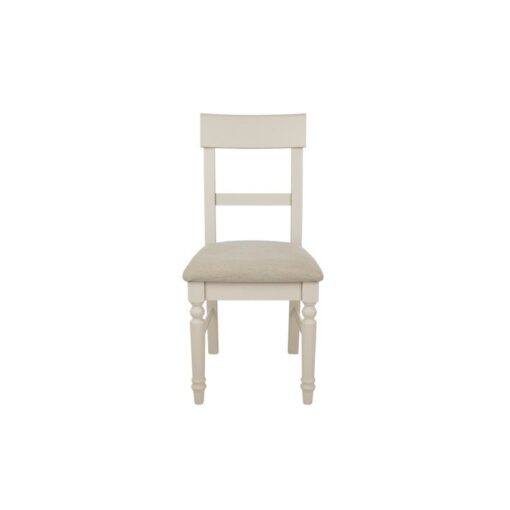 Dorset Soft Truffle Upholstered Dining Chairs-Pair