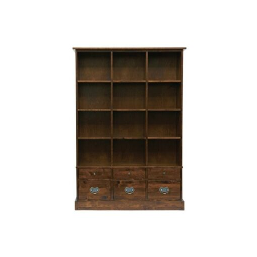 Garrat Chestnut Book Case 6 Drawer