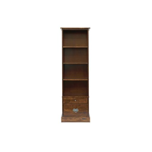 Garrat Chestnut Book Case 2 Drawer