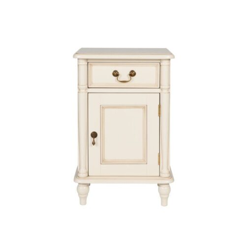 Clifton Ivory Bedside Cabinet – Right Hand