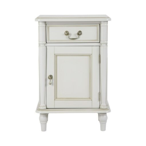Clifton Dove Grey Bedside Cabinet – Left Hand