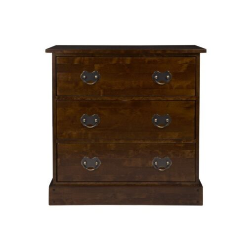 Garrat Chestnut 3 Drawer Chest
