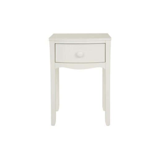 Broughton – Ivory 1 Drawer Bedside Table