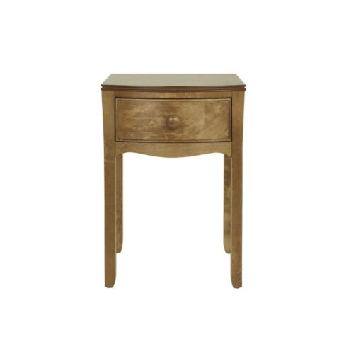 Broughton – Honey 1 Drawer Bedside Table