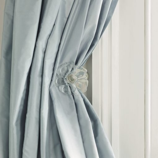 Isabella Flower Clear Curtain Holdback