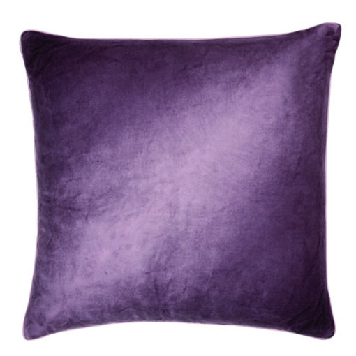 Nigella Grape Square Velvet Cushion
