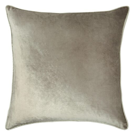 Nigella Truffle Square Velvet Cushion
