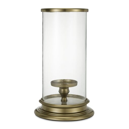 Extra Large Brass Hurricane Lamp