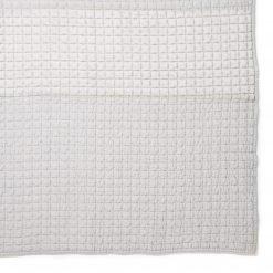 Lewes Silver Large Bedspread