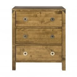 Balmoral Honey Chest of 3 Drawers