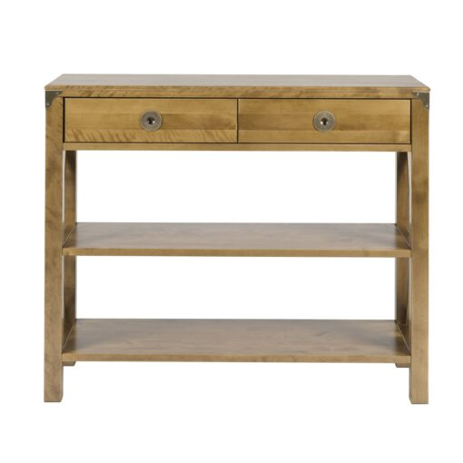 Balmoral Honey Console Table