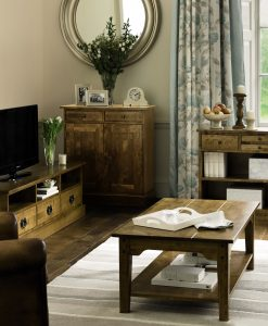 Garrat Honey Console Table