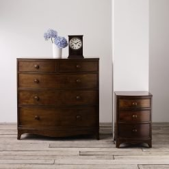 Broughton – Dark 3 Drawer Side Table