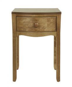 Broughton – Honey 1 Drawer Bedside Table