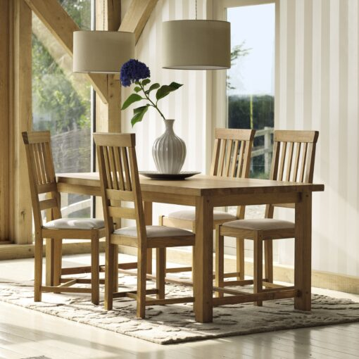 Milton Large Extending Dining Table