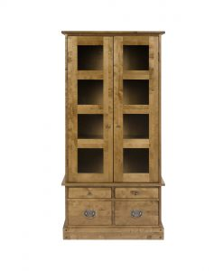 Garrat Honey Display Cabinet
