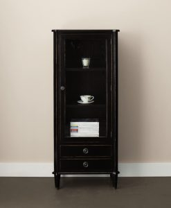 Henshaw – Black Display Cabinet
