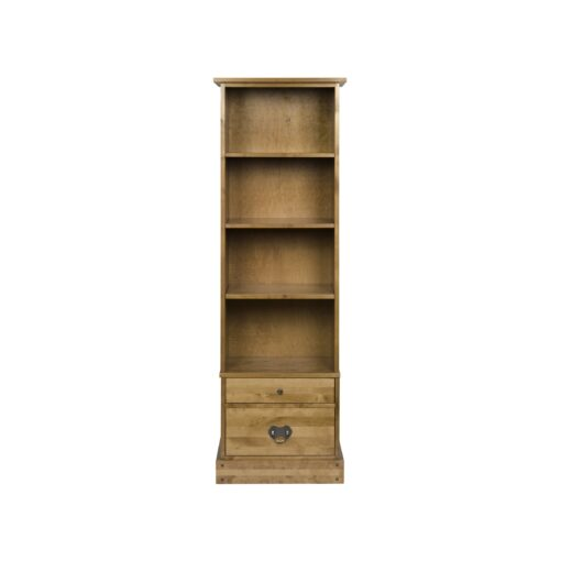 Garrat Honey Book Case 2 Drawer
