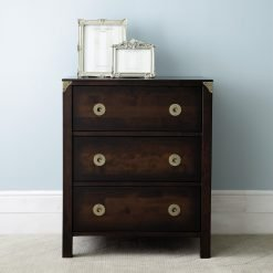 Balmoral Chestnut Chest of 3 Drawers