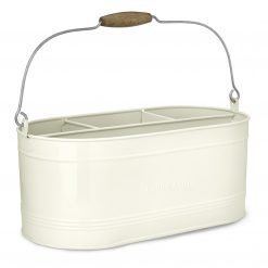 Large Enamel Caddy