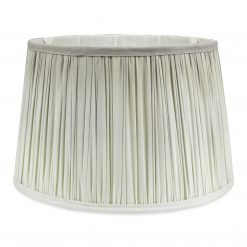 Steel Ombre Pleated Shade 14 Inch