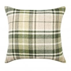 Mulholland Hedgerow Check Wool Cushion