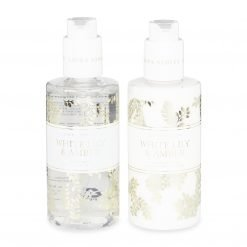 White Lily and Amber Hand Wash and Lotion Gift Set