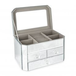 Josette Extra Large Mirrored Jewellery Box